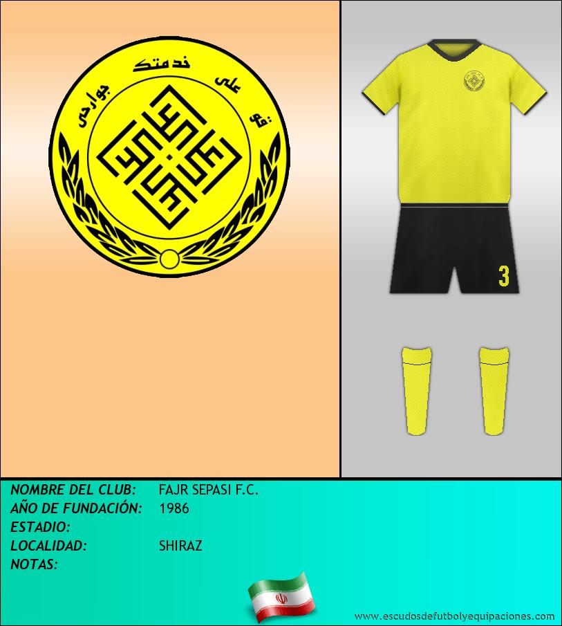 Escudo de FAJR SEPASI F.C.