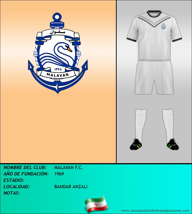 Escudo de MALAVAN F.C.