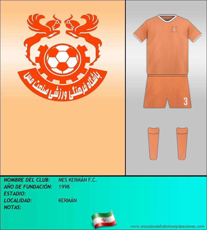 Escudo de MES KERMÁN F.C.