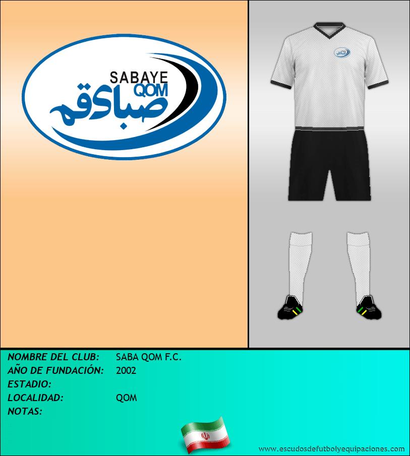 Escudo de SABA QOM F.C.