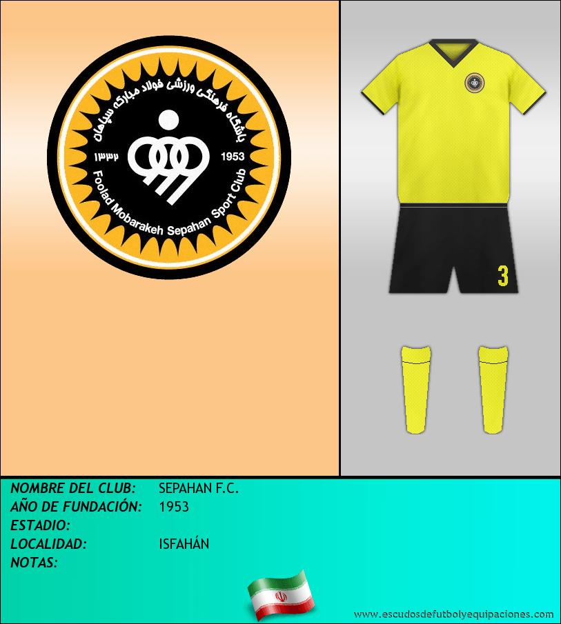 Escudo de SEPAHAN F.C.