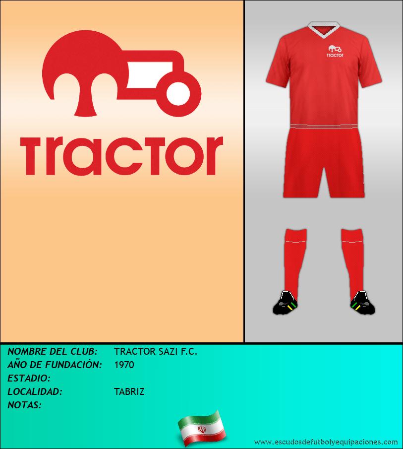 Escudo de TRACTOR SAZI F.C.
