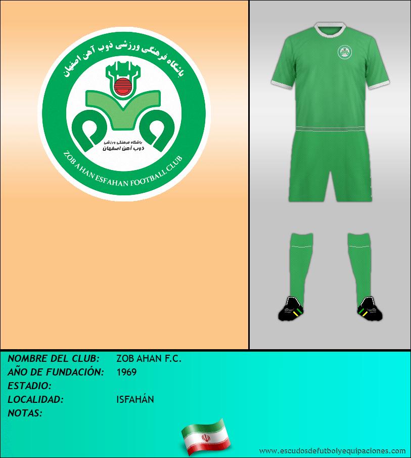 Escudo de ZOB AHAN F.C.