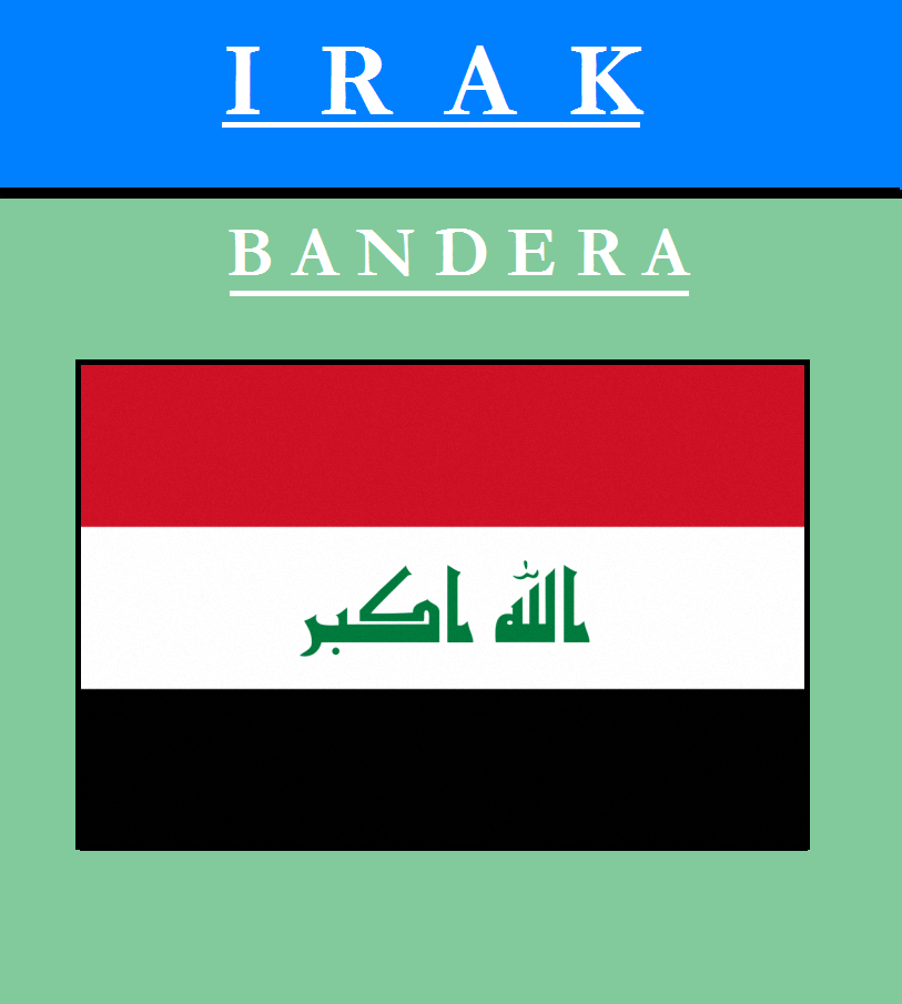 Escudo de BANDERA DE IRAK