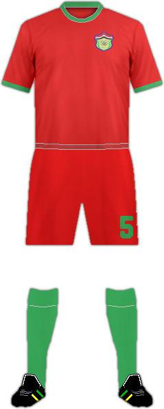 Camiseta AL-HEDOOD F.C.