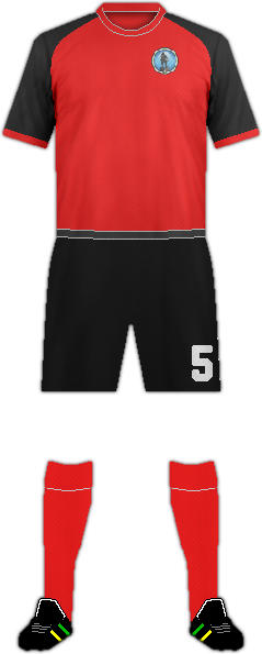 Camiseta NAFT MAYSAN F.C.