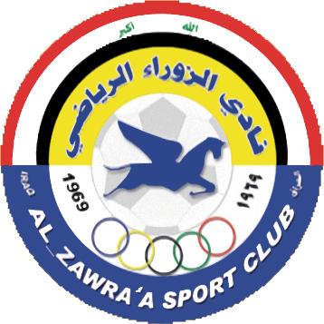 Escudo de AL-ZAWRA'A S.C. (IRAK)