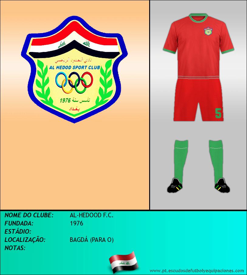 Escudo de AL-HEDOOD F.C.