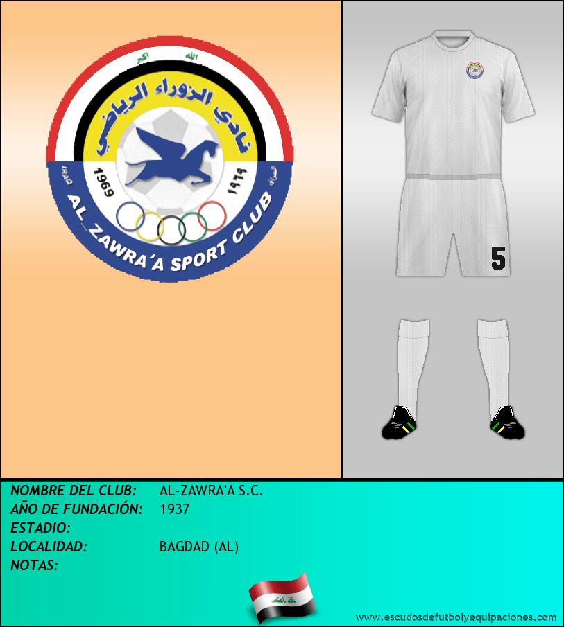 Escudo de AL-ZAWRA'A S.C.