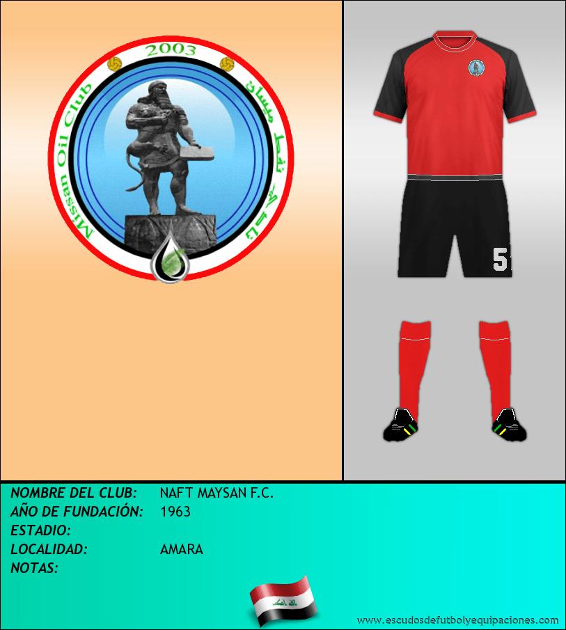Escudo de NAFT MAYSAN F.C.
