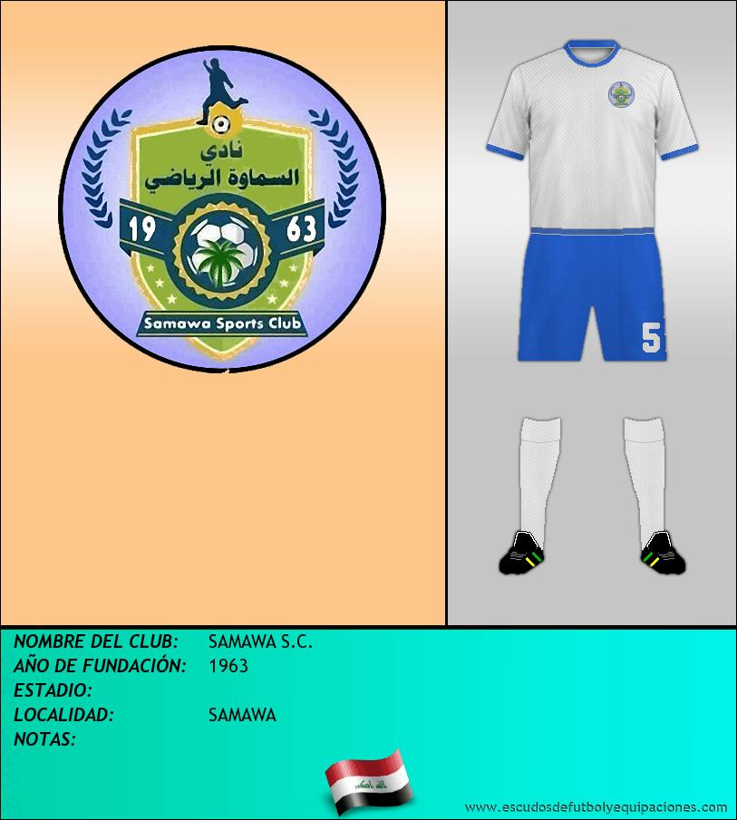 Escudo de SAMAWA S.C.