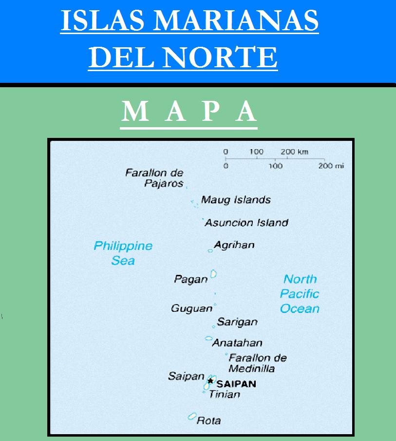Escudo de MAPA DE ISLAS MARIANAS DEL NORTE