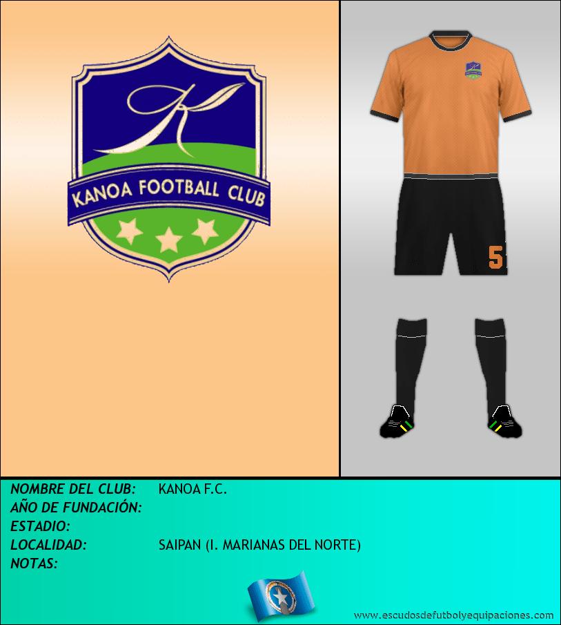 Escudo de KANOA F.C.