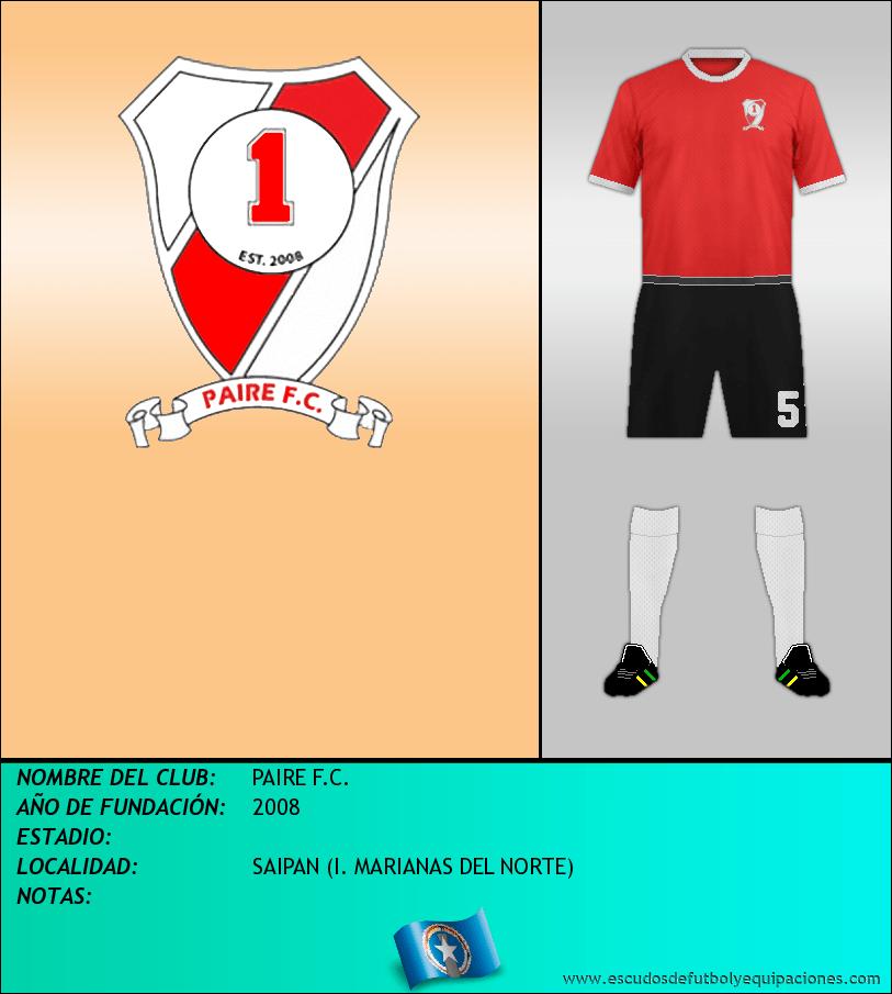 Escudo de PAIRE F.C.