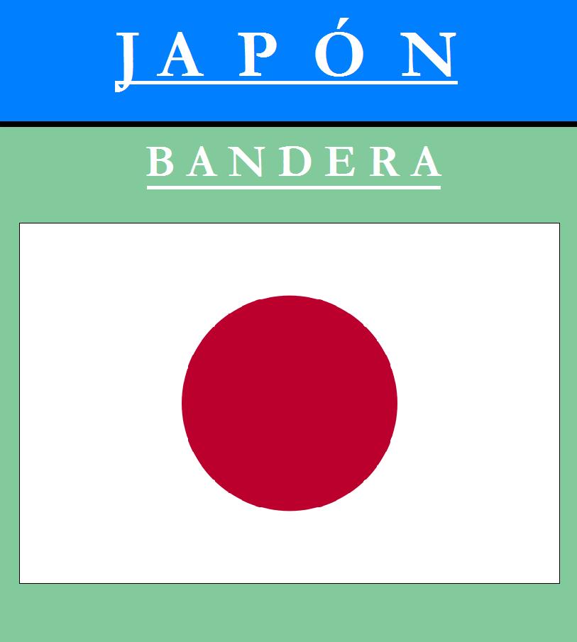 Escudo de BANDERA DE JAPÓN