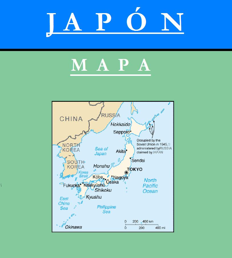 Escudo de MAPA DE JAPÓN