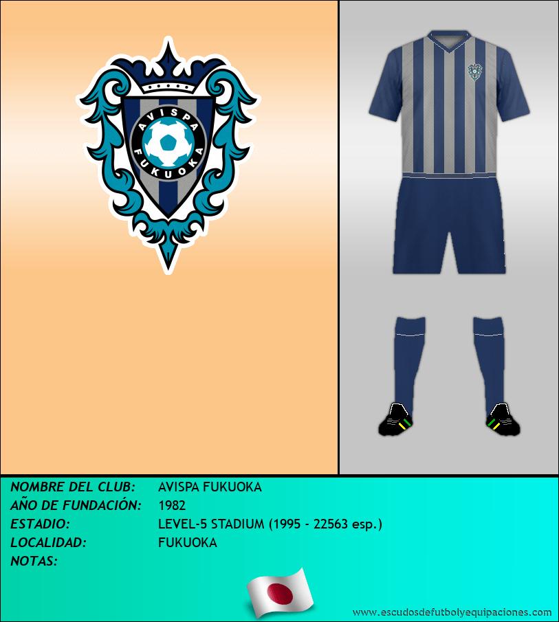 Escudo de AVISPA FUKUOKA