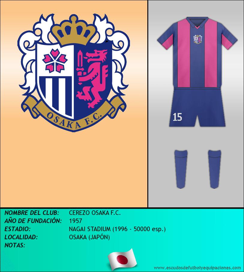 Escudo de CEREZO OSAKA F.C.