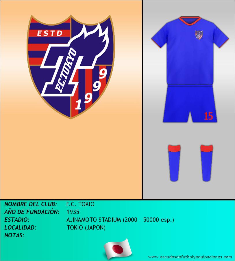 Escudo de F.C. TOKIO