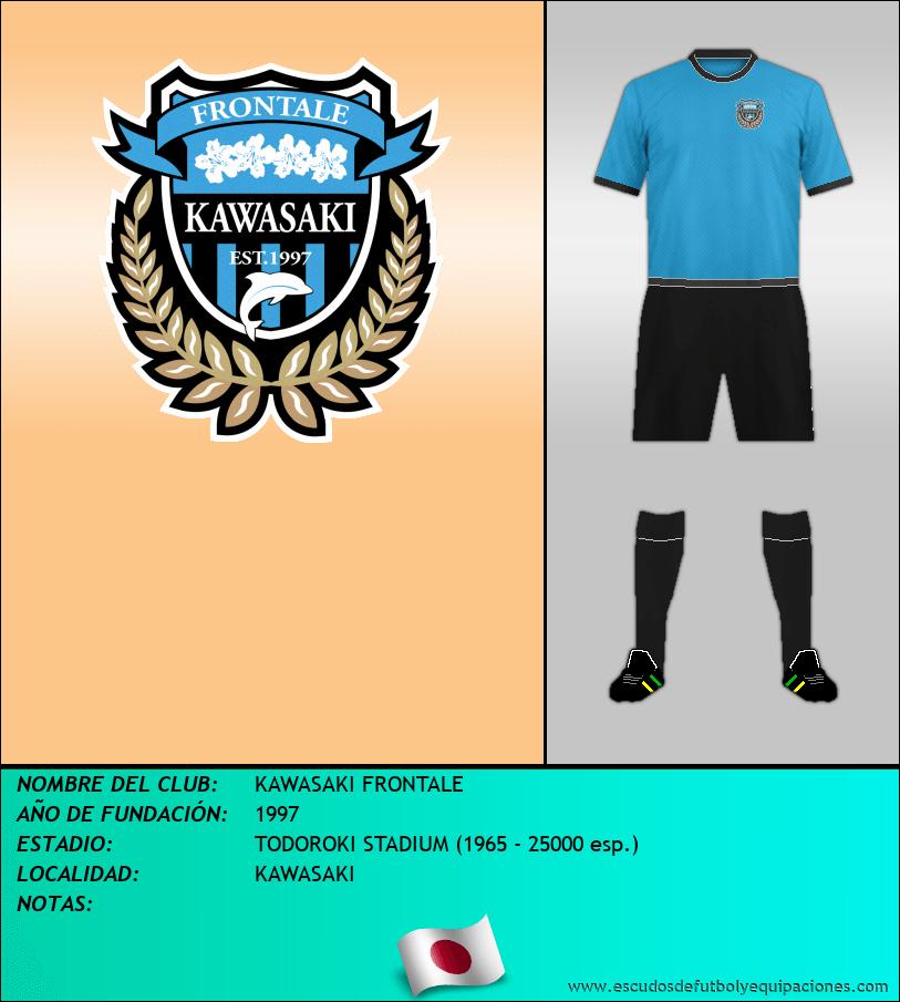 Escudo de KAWASAKI FRONTALE