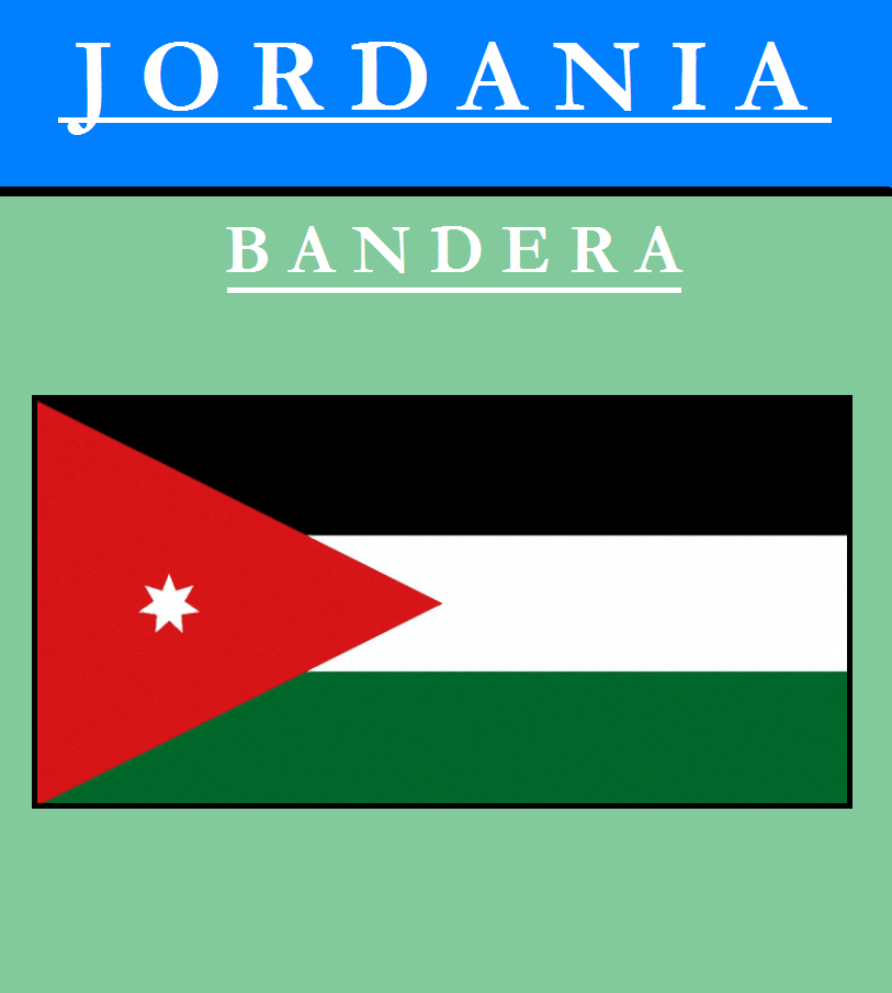 Escudo de BANDERA DE JORDANIA