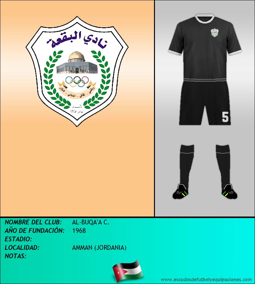 Escudo de AL-BUQA'A C.