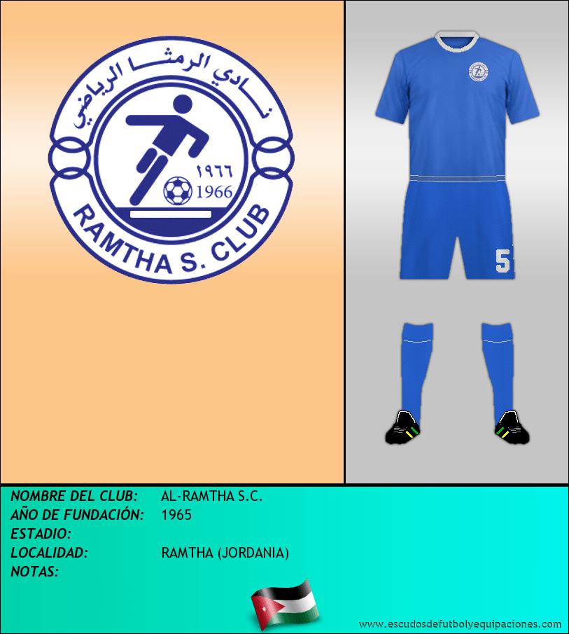 Escudo de AL-RAMTHA S.C.