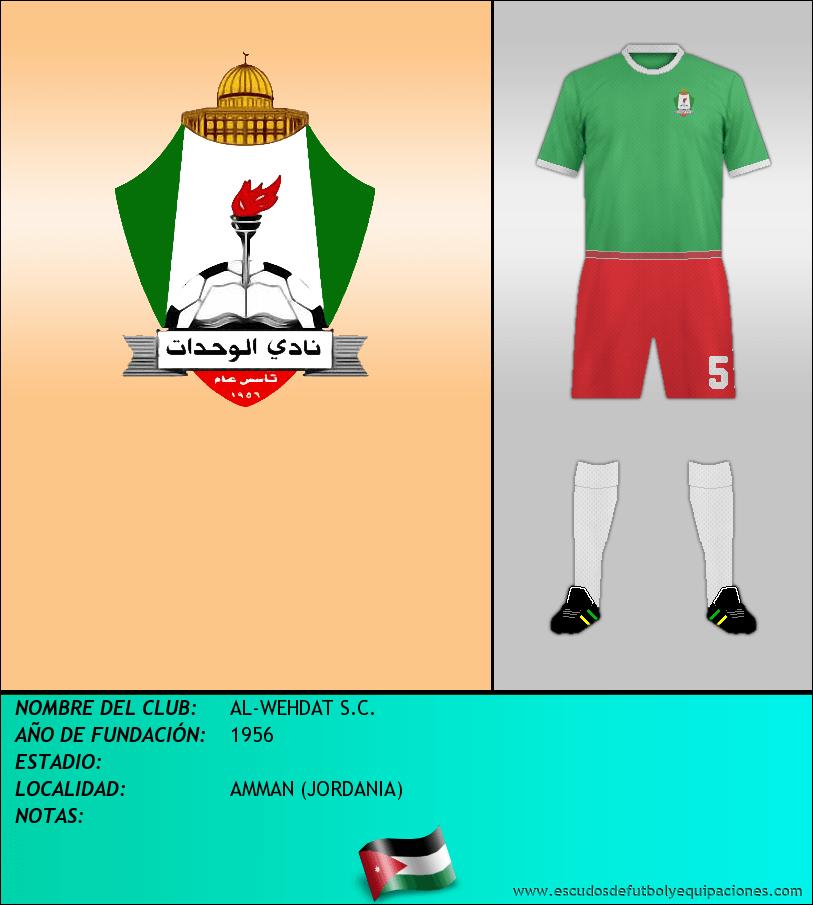 Escudo de AL-WEHDAT S.C.