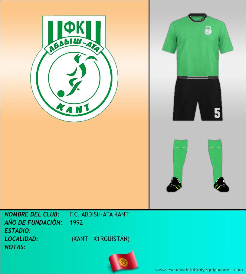 Escudo de F.C. ABDISH-ATA KANT