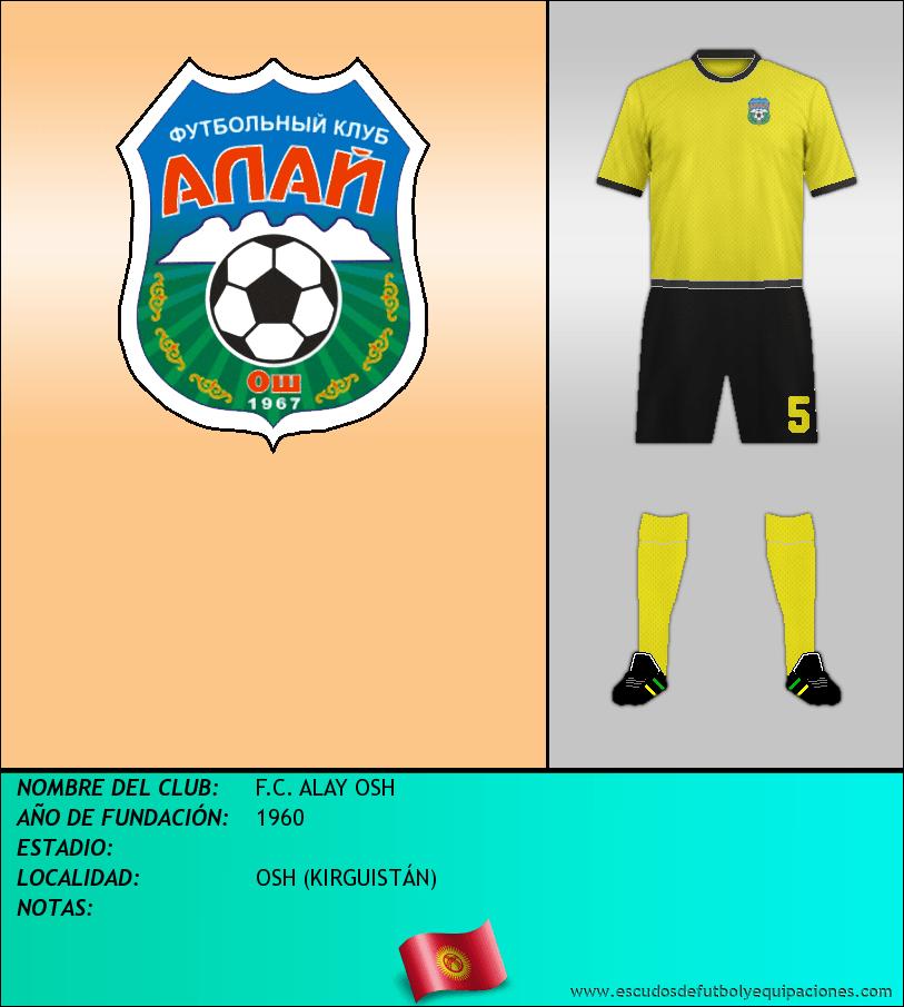 Escudo de F.C. ALAY OSH