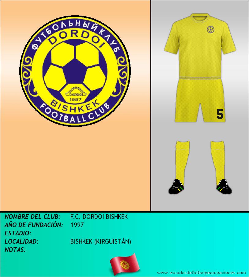 Escudo de F.C. DORDOI BISHKEK