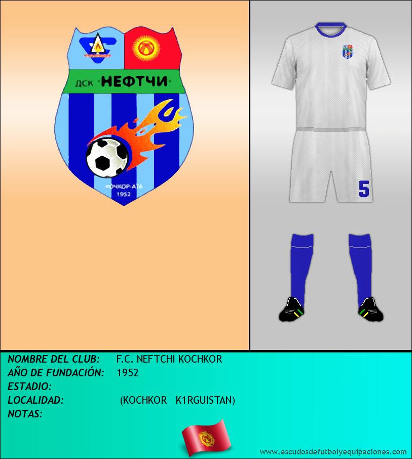 Escudo de F.C. NEFTCHI KOCHKOR