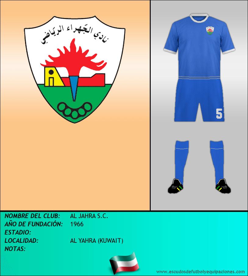 Escudo de AL JAHRA S.C.