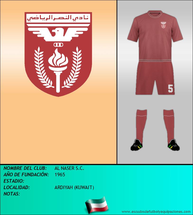 Escudo de AL NASER S.C.