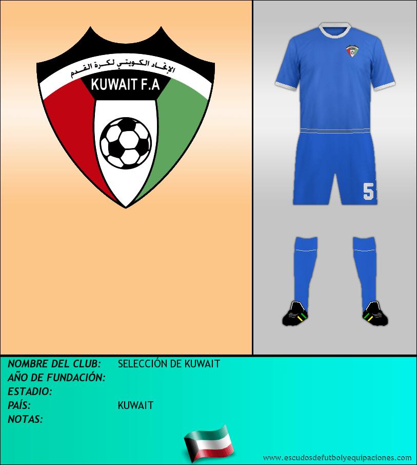 Escudo de SELECCIÓN DE KUWAIT
