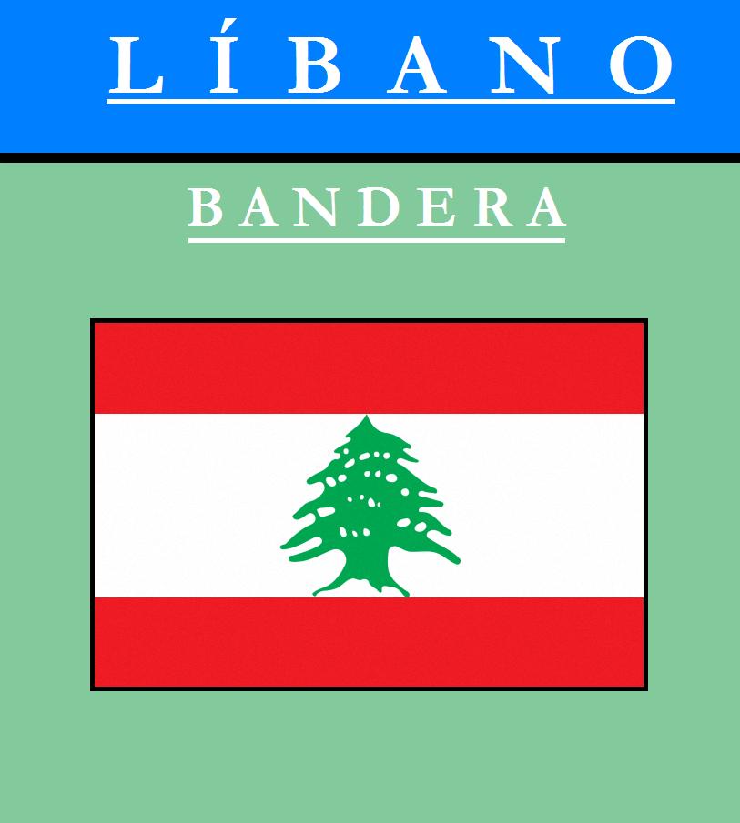 Escudo de BANDERA DE LÍBANO