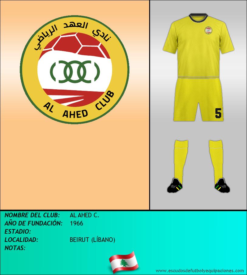 Escudo de AL AHED C.