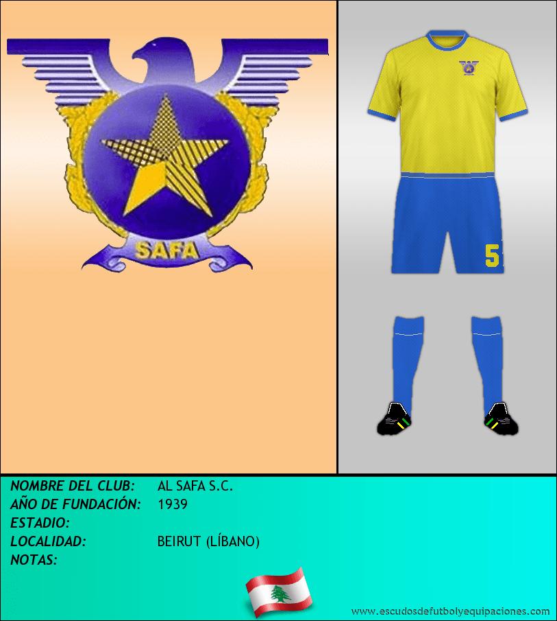 Escudo de AL SAFA S.C.