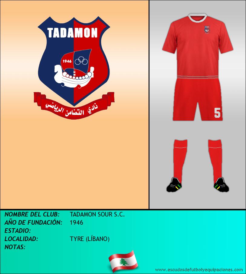 Escudo de TADAMON SOUR S.C.