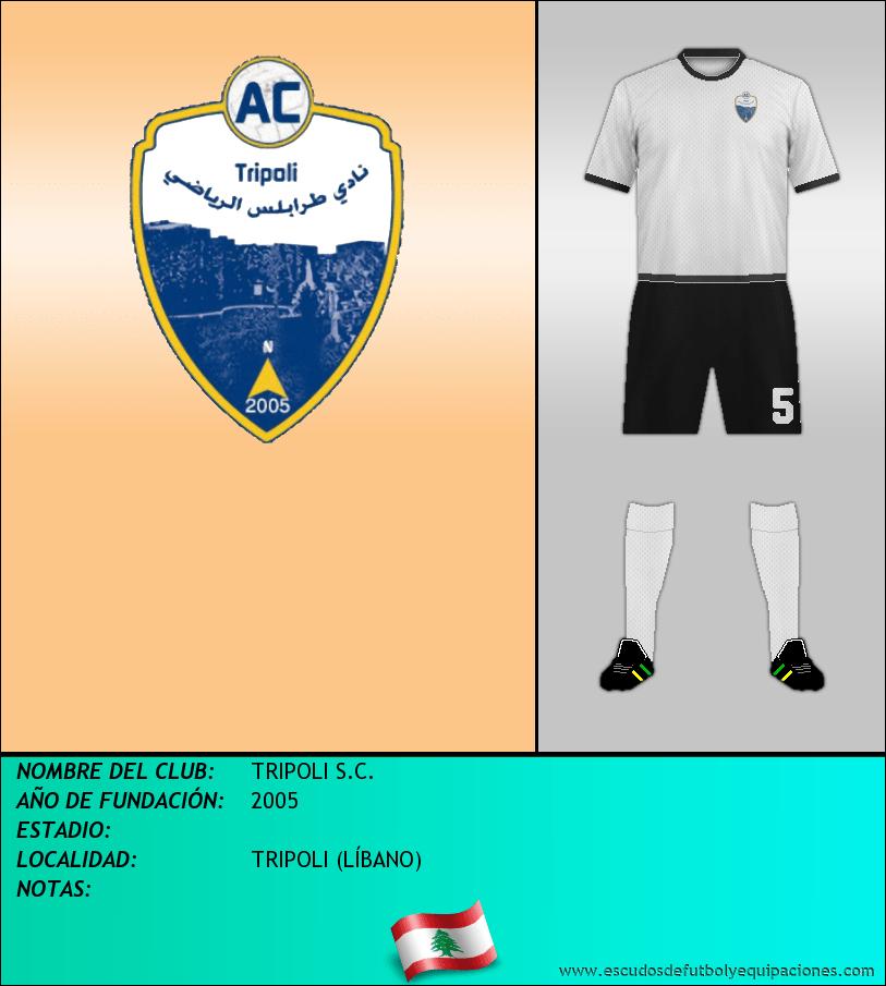 Escudo de TRIPOLI S.C.