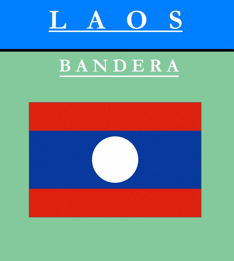 Escudo de BANDERA DE LAOS