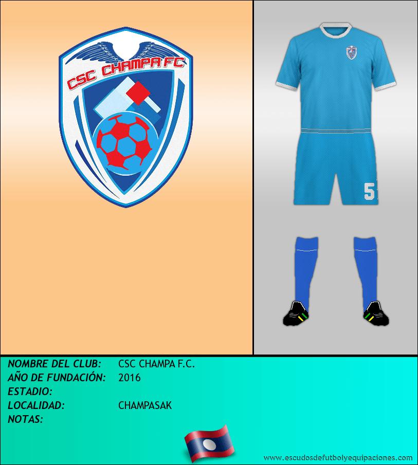 Escudo de CSC CHAMPA F.C.