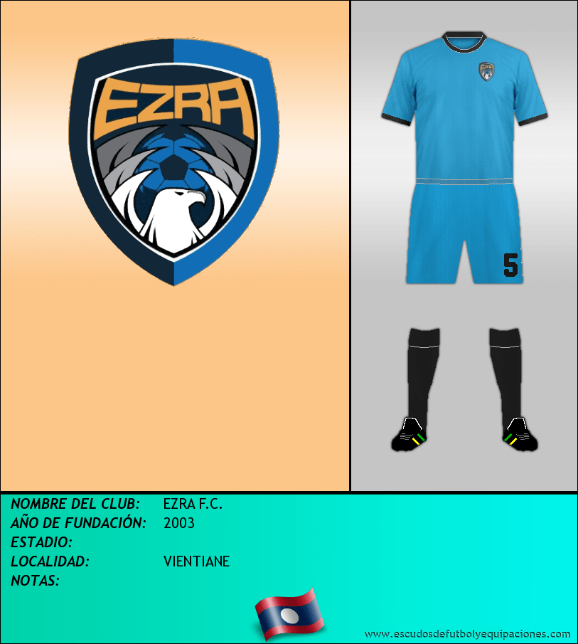 Escudo de EZRA F.C.