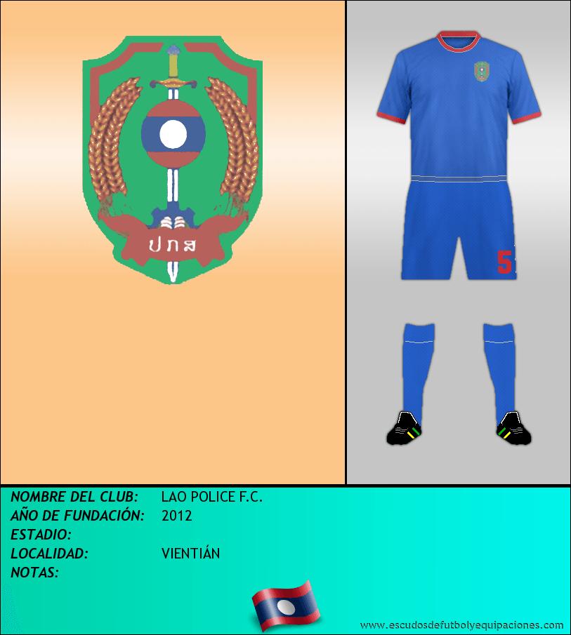 Escudo de LAO POLICE F.C.