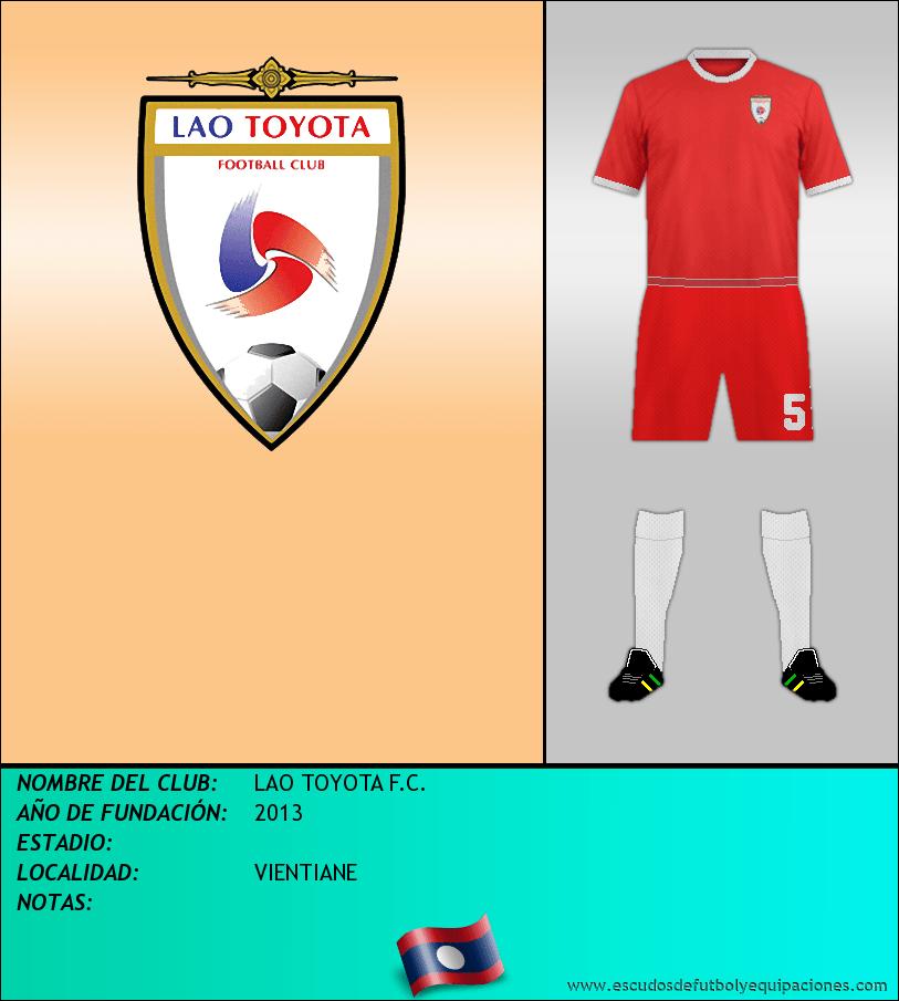 Escudo de LAO TOYOTA F.C.
