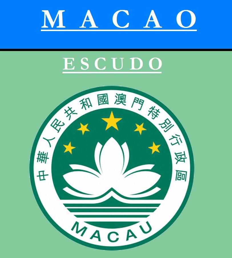 Escudo de ESCUDO DE MACAO