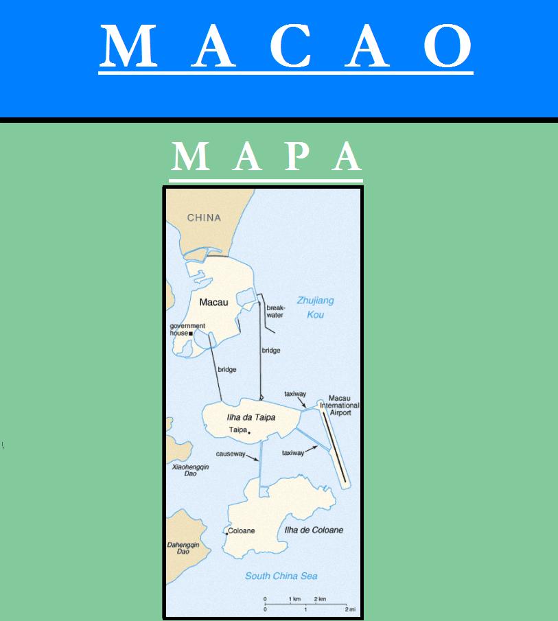 Escudo de MAPA DE MACAO