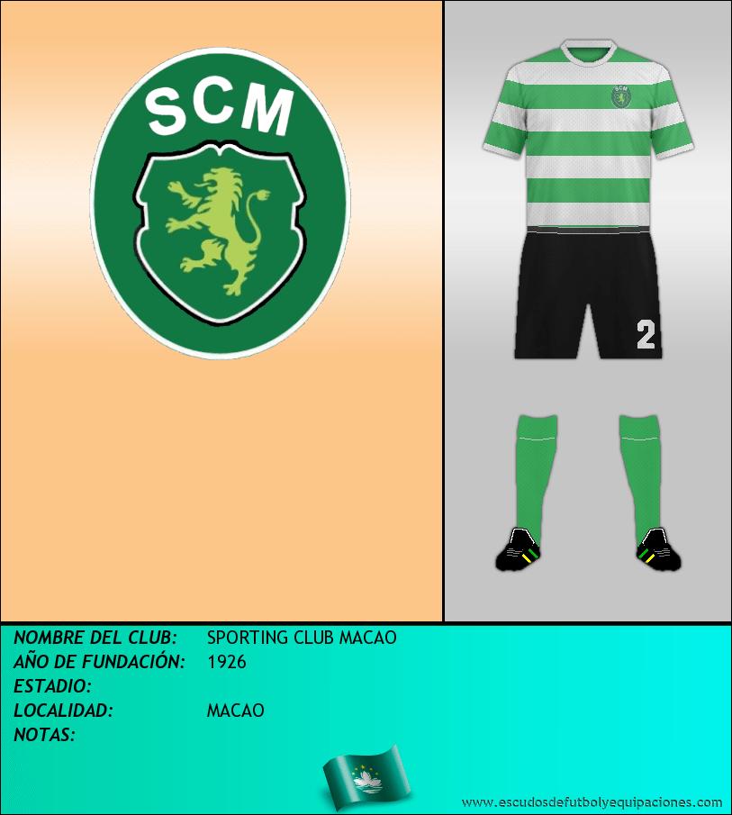 Escudo de SPORTING CLUB MACAO