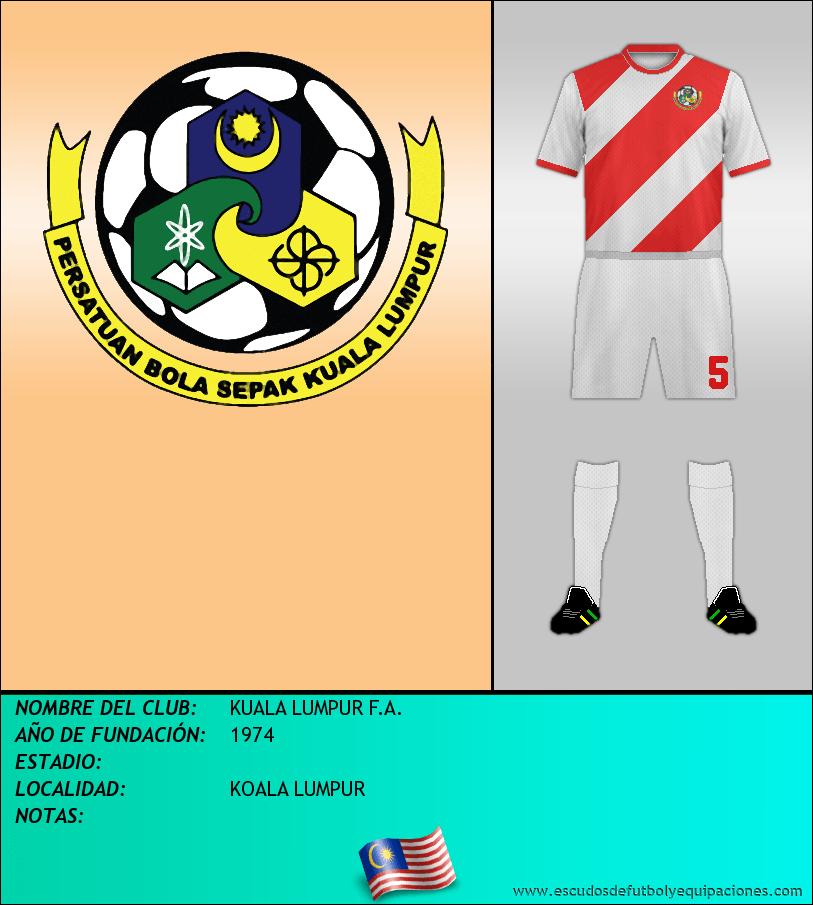 Escudo de KUALA LUMPUR F.A.