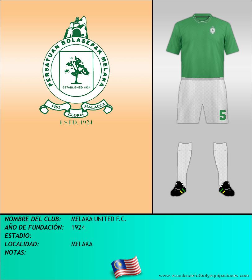 Escudo de MELAKA UNITED F.C.